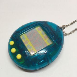 Tamagotchi Bandai Virtual Pet Blue 1996 First Generation With Battery Japan Ver
