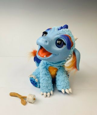 Hasbro Furreal Friends Torch My Blazin' Dragon Interactive Toy With Sound/motion