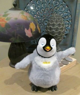Happy Feet Tap Dancing Mumble Penguin Plush Interactive Thinkway Toys