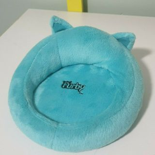 Furby Bed Blue 2012 Gasbro Beans Inside Shut Them Up Hehe