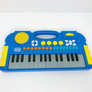 Vintage Kool Toyz Electronic Keyboard Flashing Keys Music Developmental Sounds