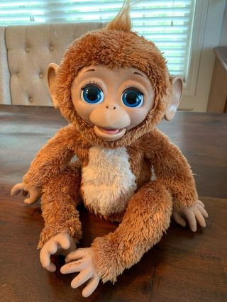 Furreal Friends Cuddles My Giggly Monkey Interactive Hasbro 2012 Chimp