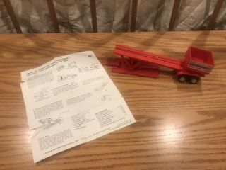 Schaper Stomper Completion Pull Set Pulling Sled Parts Incomplete W/directions