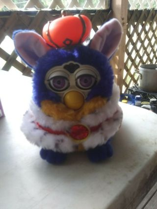"Hasbro Furby 2000 Special Limited - Edition ""your Royal Majesty"""