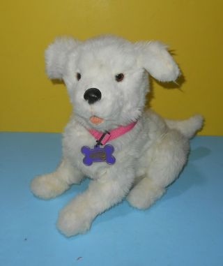 Hasbro Furreal Friends Cookie My Playful Pup White Interactive Dog 29203 Plush