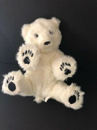 "Wowwee Alive 2007 Polar Bear 14 "" Plush Interactive Realistic Stuffed Animal Toy"