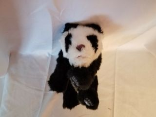 "Wow Wee Alive Minis Panda Bear Cub Interactive Sounds Plush 10 "" Baby 2008"