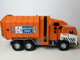 Hasbro Tonka Garbage & Waste Department Toy Truck Funrise 2007 Sounds