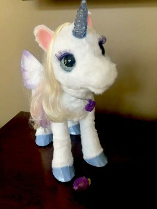 Furreal Friends Starlily My Magical Unicorn With Berry