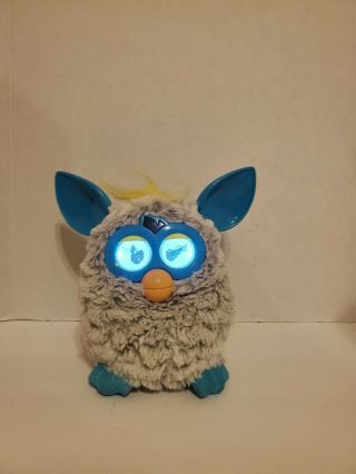 Furby Hasbro 2012 Interactive Toy Gray & Blue