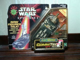 Star Wars Episode 1 Electronic Comm Tech Reader,  1998 Hasbro