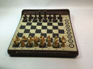 Vintage Sensory Chess Challenger Fidelity Electronics