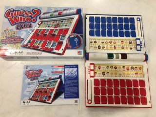 Guess Who? Extra Electronic Game By Milton Bradley 2008 Complete