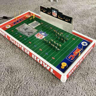 Nfl Electric Football Bowl 1980 Steelers Rams - - Box