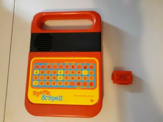 Vintage 1978 Texas Instruments Speak And Spell Great Toy.