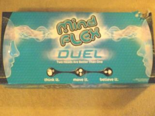 Mindflex Duel - Mattel Mental Brainwave Electronic Game 1 - 2 Players Complete