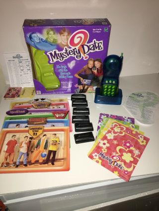 Mystery Date Electronic Talking Phone Game Hasbro Milton Bradley 2000 Complete