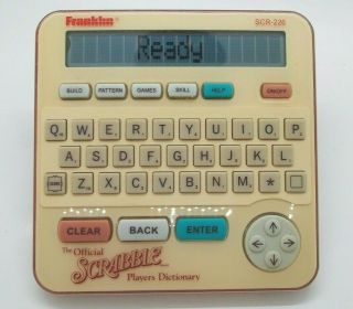 Official Scrabble Players Dictionary Franklin Electronic Scr - 226 L@@k