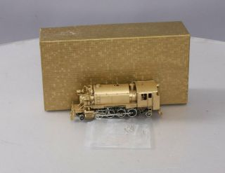 Northwest Short Line Ho Brass Minarets Class Alco 2 - 8 - 2t Steam Locomotive/box