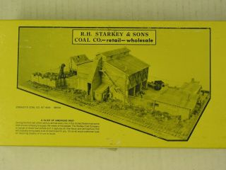 Fine Scale Miniatures - R.  H.  Starkey & Sons - Kit 245 - Ho Scale