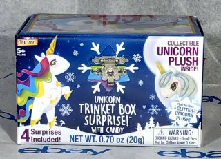 Treat Street Blind Box Surprise With Candy Sticker & Collectible Unicorn Plush