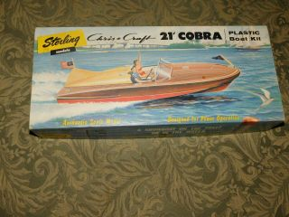 Vintage 1950 - 60s Sterling Chris Craft 21