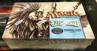 Mtg: Judgement Booster Box Display Factory Rare L@@k