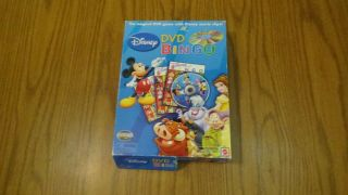 Disney Dvd Bingo With Movie Clips Game Complete