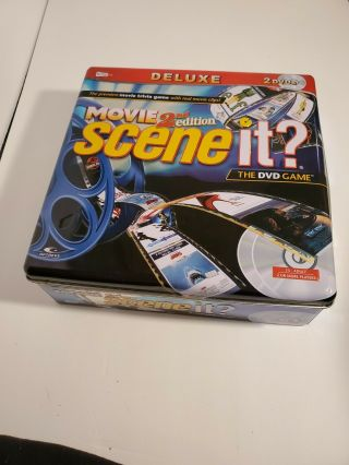 Scene It? Movie 2nd Edition Deluxe 2 Dvd