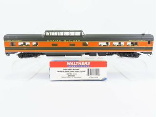 Ho Walthers 932 - 9039 Gn Great Northern Vista Dome Coach Passenger Car 1321 Rtr