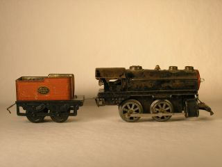 Hafner Clockwork 0 - 4 - 0 Locomotive And York Central Tender